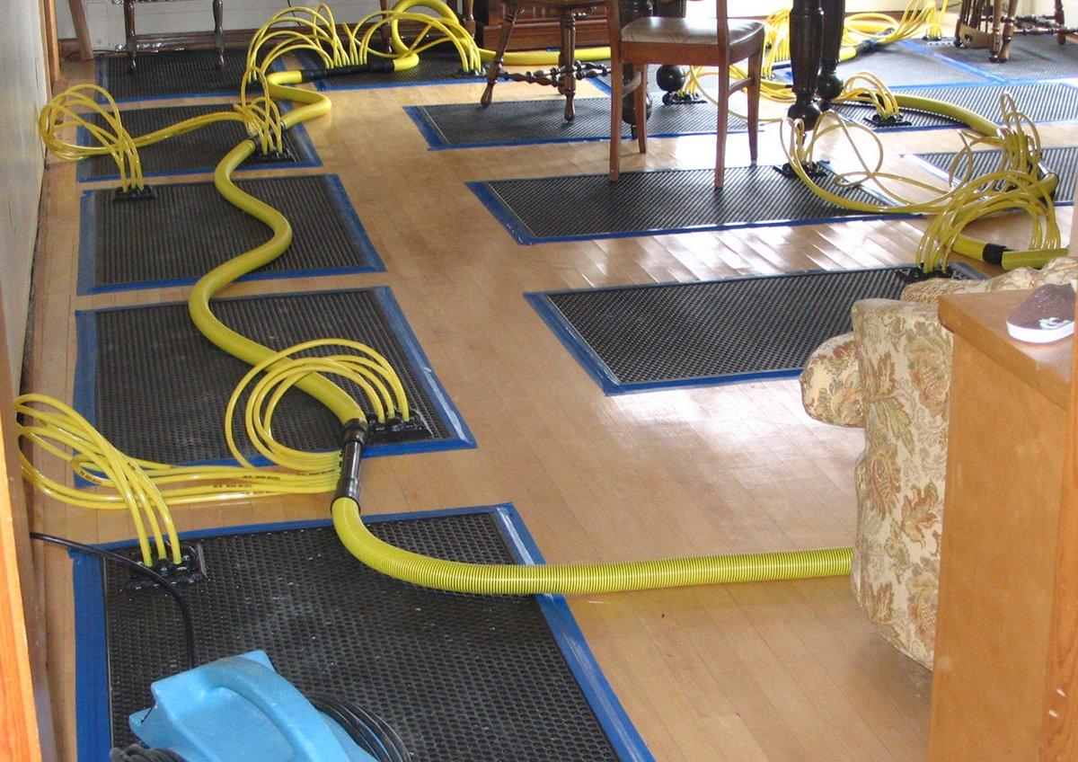 Water Extraction Premier Restoration Inc